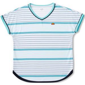 エレッセ Ellesse テニスウェア ゲームシャツ レディース EW07324P 2017FW「2017新製品」|sportsjapan