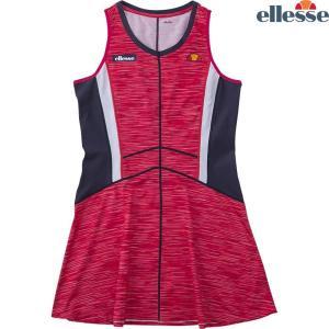 エレッセ Ellesse テニスウェア レディース ツアードレス EW08302-BX 2018FW sportsjapan