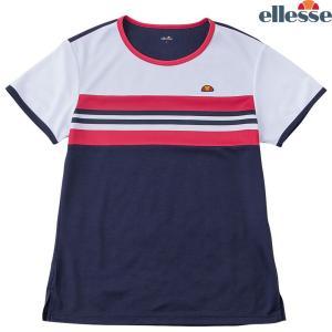 エレッセ Ellesse テニスウェア レディース SS プラクティスクルー EW08310-NT 2018FW sportsjapan