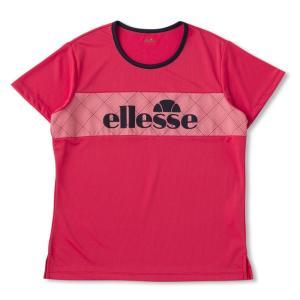 エレッセ Ellesse テニスウェア レディース SSグラフィックティー EW08313-TB 2018FW sportsjapan