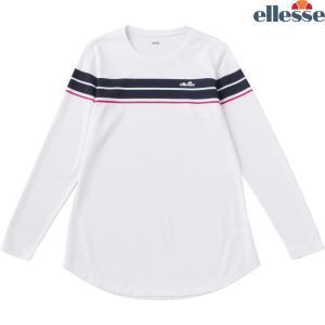 エレッセ Ellesse テニスウェア レディース LS メランジクルー EW08324-W 2018FW sportsjapan