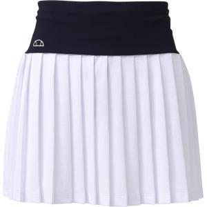 エレッセ Ellesse テニスウェア レディース クラブプリーツスカート EW28105-W 2018SS|sportsjapan