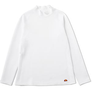 「2017新製品」Ellesse エレッセ [モックネックシャツ レディース EW37112]テニスウェア「2017FW」|sportsjapan