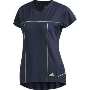 アディダス adidas テニスウェア レディース WOMEN RULE#9 GAME Tシャツ EYW04-CZ0577 2018FW|sportsjapan