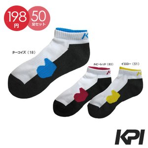 「50足セット」KPI ケイピーアイ 「Ladies' レディースアンクルソックス F13P09」テニスウェア KPIオリジナル商品『即日出荷』|sportsjapan