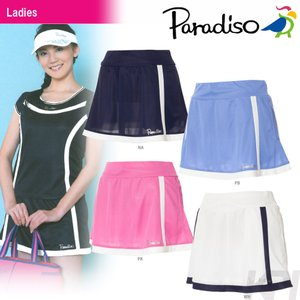 テニスウェア レディース パラディーゾ PARADISO レディーススコート FCL05L 2017SS 2017新製品|sportsjapan