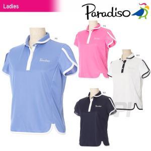 「2017新製品」PARADISO(パラディーゾ)「レディース半袖ゲームシャツ FCL07A」テニスウェア「2017SS」 KPI+|sportsjapan