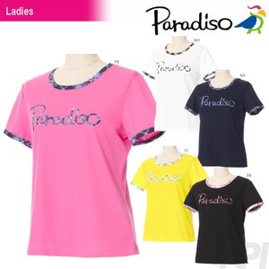 「2017新製品」PARADISO(パラディーゾ)「レディース半袖プラクティスシャツ FCL26A」テニスウェア「2017SS」 KPI+|sportsjapan