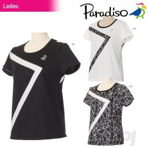 「2017新製品」PARADISO(パラディーゾ)「レディース半袖ゲームシャツ FCL71A」テニスウェア「2017SS」 KPI+|sportsjapan