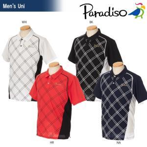 「2017新製品」PARADISO(パラディーゾ)「メンズ 半袖ゲームシャツ FCM01A」テニスウェア「2017SS」KPI+|sportsjapan