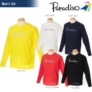 テニスウェア メンズ パラディーゾ PARADISO 長袖プラクティクスシャツ FCM23F 2017SS2017新製品|sportsjapan