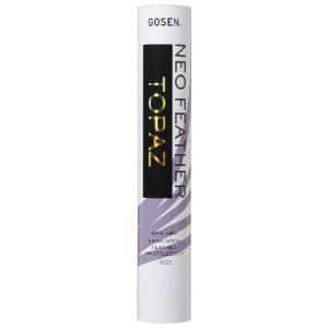 「2014新製品」GOSEN(ゴーセン)「ネオフェザー トパーズ 1ダース GFN-190」シャトルコックKPI+|sportsjapan