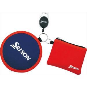 ダンロップ DUNLOP スリクソン SRIXON ゴルフアクセサリー  ボールクリーナー&ポーチ  GGF-25294|sportsjapan