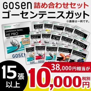ゴーセンガット 詰め合わせセット 硬式テニスストリング 10000円|sportsjapan
