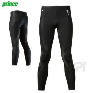プリンス Prince テニスウェア バドミントンウェア メンズ CW-X ジェネレーター ロングタイツ HZO649|sportsjapan