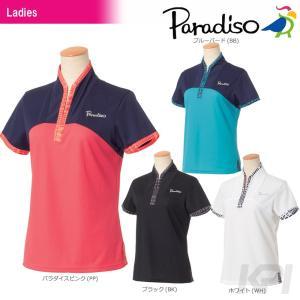パラディーゾ PARADISO テニスウェア レディース半袖ゲームシャツ ICL02A 2017FW 「2017新製品」|sportsjapan