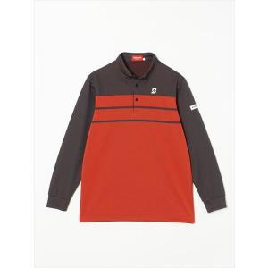 ブリヂストン BRIDGESTONE TOUR B ゴルフウェア ユニセックス 長袖ボタンダウンシャツ IGM34F-OR 2017FW sportsjapan