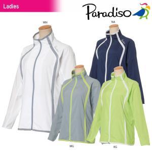 パラディーゾ PARADISO テニスウェア レディース ジャケット JCL12D 2018SS|sportsjapan