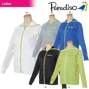 パラディーゾ PARADISO テニスウェア レディース ジャケット JCL66M 2018SS|sportsjapan