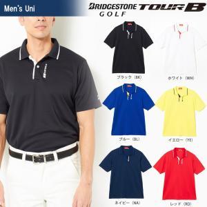 ブリヂストンゴルフ BRIDGESTONE ゴルフウェア メンズ TOUR B ツアーB 半袖ポロシャツ JGM01A 2018SS|sportsjapan