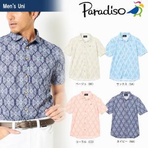 ブリヂストンゴルフ BRIDGESTONE ゴルフウェア メンズ PARADISO パラディーゾ 半袖シャツ JSM35A 2018SS|sportsjapan