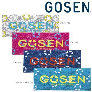 ゴーセン GOSEN テニスアクセサリー  フェイスタオル K1802|sportsjapan