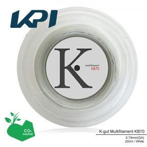 『即日出荷』 「エントリーでグリップ対象」KPI(ケイピーアイ)「K-gut Multifilament KB70 200mロール」バドミントンストリング(ガット)KPI+|sportsjapan
