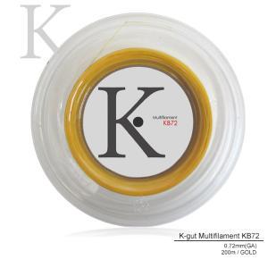 『即日出荷』 「エントリーでグリップ対象」KPI(ケイピーアイ)「K-gut Multifilament KB72 200mロール」バドミントンストリング(ガット)KPI+|sportsjapan
