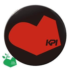 KPI ケイピーアイ 「オリジナル缶バッジ ハート 100mm 」KPIオリジナル商品|sportsjapan