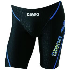 アリーナ ARENA 水泳水着 メンズ ロングポックス アクアエクサ カット  LAR-8300-BKBU|sportsjapan
