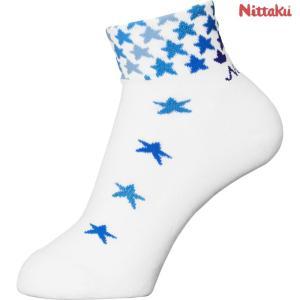 ニッタク Nittaku 卓球ウェア レディース スターソックス 卓球用ソックス NW2960-09 2018SS sportsjapan