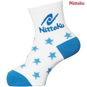 ニッタク Nittaku 卓球ウェア ジュニア キッズソックス 卓球用ソックス NW2961-09 2018SS|sportsjapan