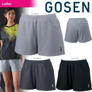 テニスウェア レディース ゴーセン GOSEN ショートパンツ PP1701 2017FW 2017新製品|sportsjapan