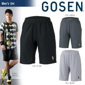 テニスウェア ユニセックス ゴーセン GOSEN ハーフパンツ PP1800 2018SS[ポスト投函便対応] sportsjapan