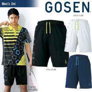 ゴーセン GOSEN テニスウェア ユニセックス 星柄ゲームパンツ PP1802 2018SS|sportsjapan