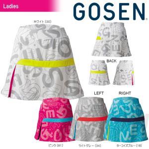 テニスウェア レディース ゴーセン GOSEN ファンプラスカート S1701 2017SS 2017新製品|sportsjapan