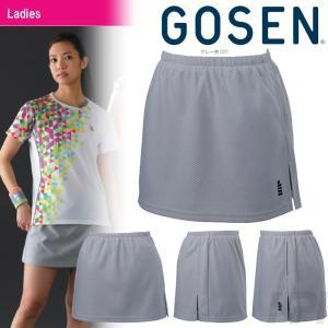 テニスウェア レディース ゴーセン GOSEN スカート インナースパッツ付き S1703 2017FW 2017新製品|sportsjapan