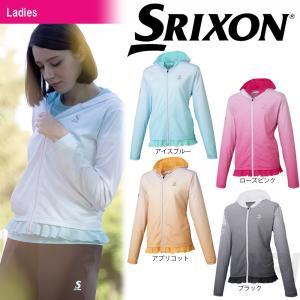 「2017新製品」SRIXON スリクソン 「WOMEN'S TOUR LINE レディース ライトジャケット SDF-5720W」テニスウェア「2017SS」|sportsjapan