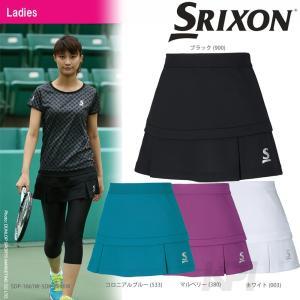テニスウェア レディース スリクソン SRIXON WOMEN'S PREMIER LINE SKORT スコート SDK-2696W 2016FW KPI sportsjapan