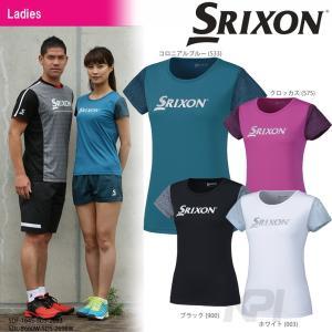 SRIXON スリクソン 「WOMEN'S PREMIER LINE T-SHIRT レディース Tシャツ SDL-8660W」テニスウェア「2016FW」「KPI」|sportsjapan