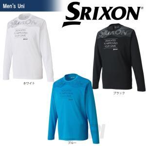 テニスウェア レディース スリクソン SRIXON メンズ TOUR LINE ロングスリーブTシャツ SDL-8702 2017SS2017新製品|sportsjapan