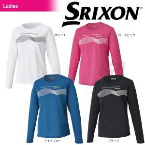 「2017新製品」SRIXON スリクソン 「WOMEN'S TOUR LINE レディース ロングスリーブTシャツ SDL-8722W」テニスウェア「2017SS」|sportsjapan