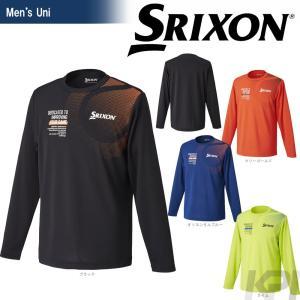 「2017新製品」SRIXON スリクソン 「UNISEX TOUR LINE ロングスリーブTシャツ SDL-8742」テニスウェア「2017FW」|sportsjapan