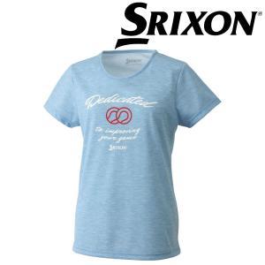 「ランドリーバッグ2枚プレゼント」スリクソン SRIXON テニスウェア レディース Tシャツ SDL-8860W SDL-8860W 2018FW|sportsjapan