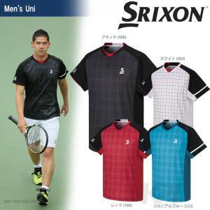 SRIXON(スリクソン)「UNISEX PREMIER LINE GAME SHIRT(ユニセックス ゲームシャツ)SDP-1642」テニスウェア「2016FW」 KPI+|sportsjapan