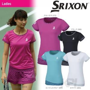 SRIXON スリクソン 「WOMEN'S PREMIER LINE GAME SHIRT レディース ゲームシャツ SDP-1662W」テニスウェア「2016FW」|sportsjapan