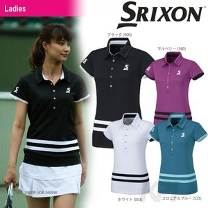 SRIXON スリクソン 「WOMEN'S PREMIER LINE POLO SHIRT レディース ポロシャツ SDP-1666W」テニスウェア「FW」|sportsjapan
