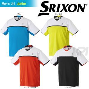 テニスウェア ジュニア スリクソン SRIXON TOUR LINE ゲームシャツ SDP-1700J 2017SS2017新製品|sportsjapan