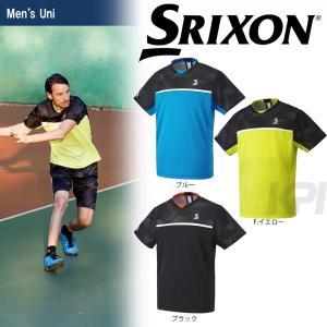 「2017新製品」SRIXON(スリクソン)「UNISEX TOUR LINE ゲームシャツ SDP-1704」テニスウェア「2017SS」 KPI+|sportsjapan