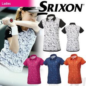 テニスウェア レディース スリクソン SRIXON WOMEN'S TOUR LINE ポロシャツ SDP-1762W 2017FW 2017新製品|sportsjapan